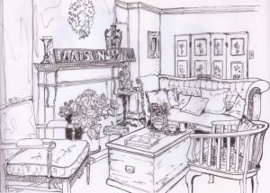 Rilievo salotto Maison